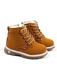 Tefamore Bambini Caldo Ragazzi Stivali Martin Sneaker Bambini Casual Scarpe cc84640739d