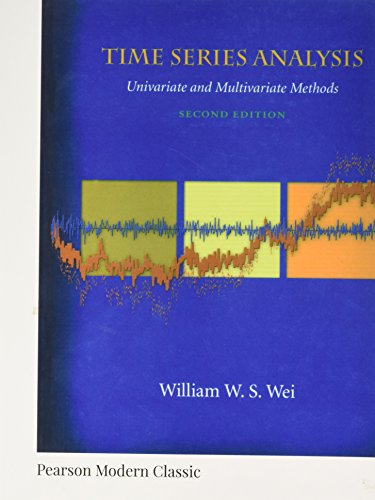 Time Series Analysis: Univariate and Multivariate Methods (Pearson Modern Classics) por William W. S. Wei