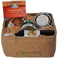Cesta gourmet - Aperitivo y veno - Set 4 - productos franceses