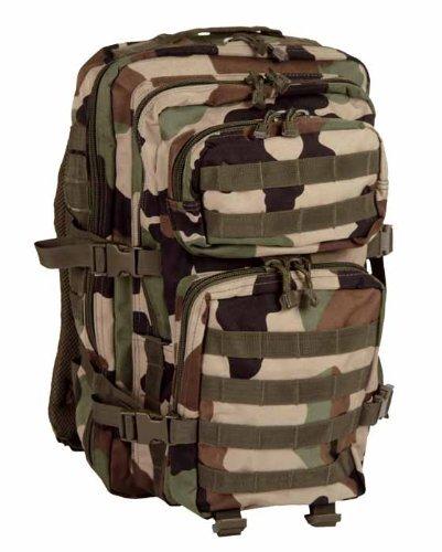 Imagen de  asalto estilo militar tipo lg camuflaje cce o woodland francés de 36 litros miltec  casual
