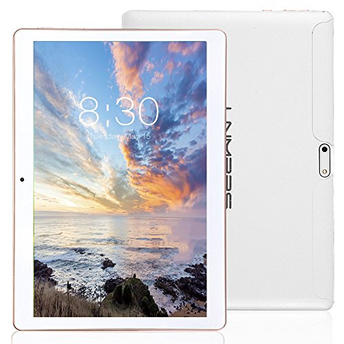 LNMBBS 3G Tablet 10 Pollici con WiFi, Quad Core,...