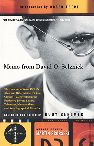 Memo From David O. Selznick (Modern Library)