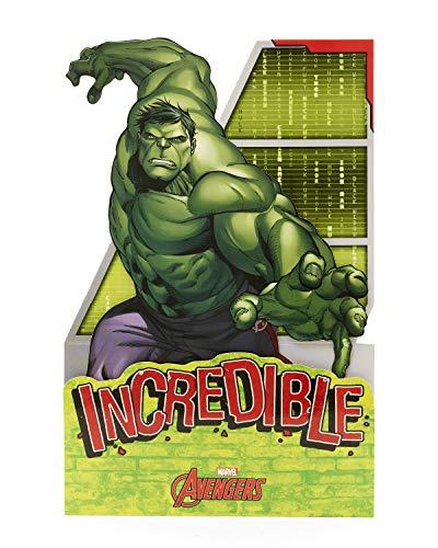 Carlton 555706-0-2,5cm Disney Marvel Avengers Incredible Hulk Pop-Out
