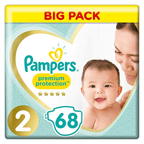 Pampers Premium Protection, 68 Couches