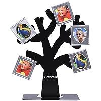 Polaroid marco árbol de familia. Árbol con el soporte y cinco marcos magnéticos para minifotos