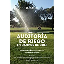 Manual auditoría de riego en campos de golf