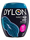 DYLON Machine Dye Pod, Navy Blue, easy-to-use fabric colour for laundry, 350g