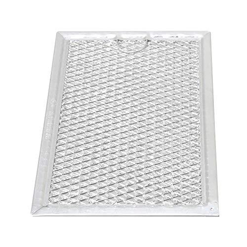 Aktivkohlefilter Filter passend für diverse Dunstabzugshaube Abzugshaube Mikrowelle Haube aus dem Hause Filter Fettfilter Aluminium Ersatz für Filter (19.3x12.8x0.2cm / 7.60x5.04x0.08inch (LxBxH)) - Mikrowelle Fettfilter