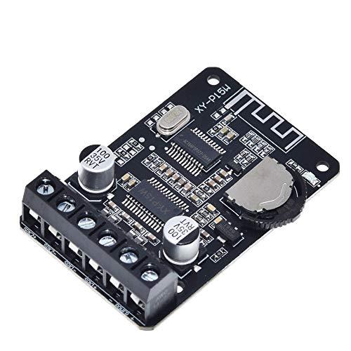 iHaospace 10W/15W/20W Stereo Bluetooth Power Amplifier Board 12V/24V Dual Channel High Power Digital Amplifier Module XY-P15W 20 Boards