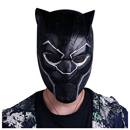 YaPin Panther Film Helm Maske Latex Kopf Set Requisiten Festival Performance Halloween Weihnachten