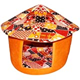 """Pets Empire Dog and Cat Puppy House Small Mushroom Design-Soft, warm and comfortable and goes everywhere Size / Approx 20"""" By 19"""" By 13"""" By 26"""" ( Color and Print May Vary)"""