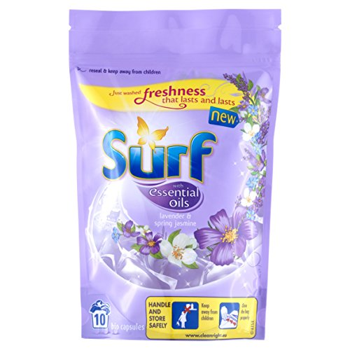 Surf Lavender and Jasmine Washing Capsules Ten Wash 24ml (Pack of 6)