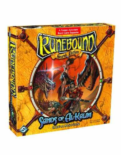 Runebound: The Sands of Al-Kalim Boardgame Expansion (Runebound, Second Edition)