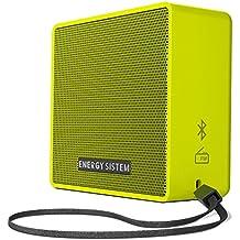 Energy Sistem Music Box 1+ - Altavoz Portátil, Bluetooth v 4.1, 5 W, microSD MP3, Radio FM, Audio-In, Color Verde (Pear)