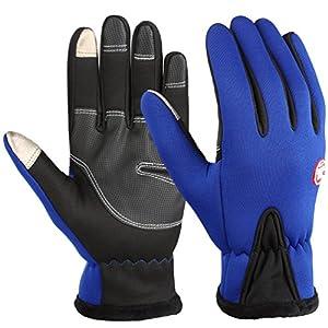 Vbiger TouchscreenHandschuhe Trainingshandschuhe Sport Handschuhe Rutschfest Handschuhe