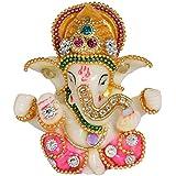 [Sponsored]Mivaan Traders Decorative Gift Ganesh Idol Lord Ganesha Ganesh Ganpati Car Dashboard Hindu Figurine Show Peace Murti Idol Statue For Office Or Home(8 Cm X 4 Cm X 4 Cm, MHMS115)