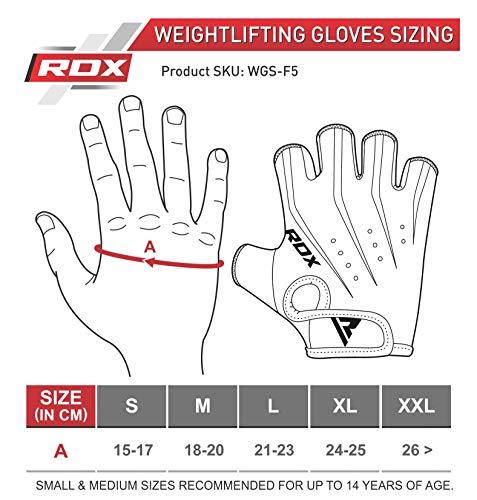 Zoom IMG-3 rdx guanti palestra uomo pesi