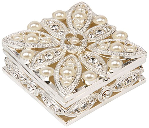 Sophia Damen Blume Schmuckkästen Kristalle Und Perlen
