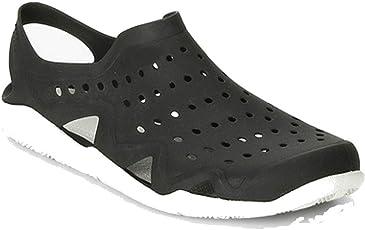 SPADE CLUB Mens Synthetic Sandal Black Size - 45 (11)