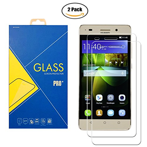 [2 Pack] Panzerglas Schutzfolie Huawei G Play Mini (Honor 4 C) - Panzerglasfolie Bildschirmschutz Anti-Scratch Shockproof für Huawei G Play Mini (Honor 4 C)