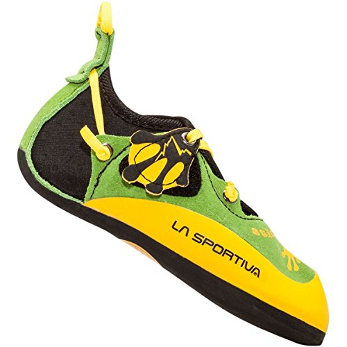 La Sportiva Stickit Climbing Shoes Kids Lime/Yellow Größe 30-31 2019 Kletterschuhe