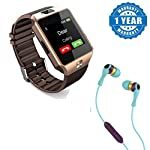 Insert your phone SIM Card in the smart watch and this watch will become a smart watch phone. You can make calls, receive calls and view messages that are sent after the SIM card is installed in the smart watch.You can also sync your mobile phone wit...