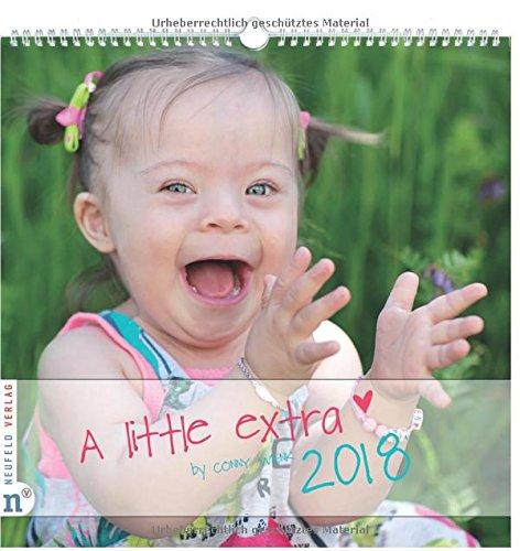 Wandkalender A little extra 2018: Fotografien von Kindern und Jugendlichen mit Down-Syndrom (A little extra / by Conny Wenk)