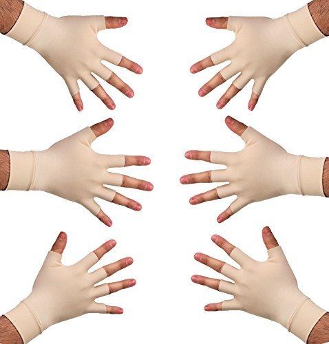 Anti-Arthritis-Handschuhe / Therapiehandschuhe, Größen M / L, 3Paar