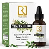 ROYAL NEEDS Tea tree essential oil for skin,hair and acne care(15ml) undiluted therapeutic