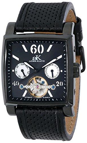 Adee Kaye unisex ak9043-mipb Wall Street orologio analogico display automatico a nero