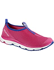 Salomon Rx Moc 3.0, Zapatillas de Running para Asfalto para Mujer, Rosa (Pink Yarrow/White/Surf the Web), 36 EU