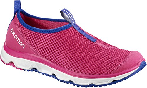 Salomon Damen RX Moc 3.0 Komfortschuhe, Pink/Blau (Pink Yarrow/White/Surf The Web), Gr. 36 2/3