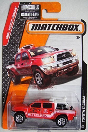 matchbox-2015-release-red-toyota-tacoma-san-dieco-fire-rescue-lifeguard-59-120-by-mattel