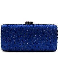 SUNNY KEY-Pochettes et clutches Femme Paillettes Soirée / Fête Sac de soirée Violet / Bleu / Or / Marron / Gris / Noir , navy blue