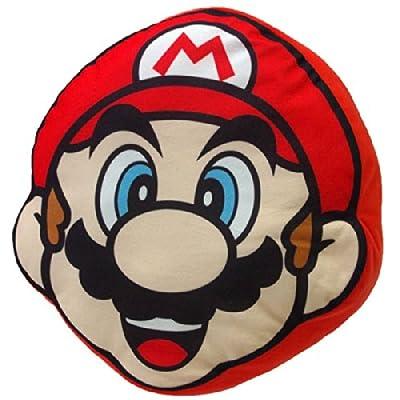 Nintendo Super Mario Bros Plush Cushion San-ei -Mario produced by Nintendo - quick delivery from UK.
