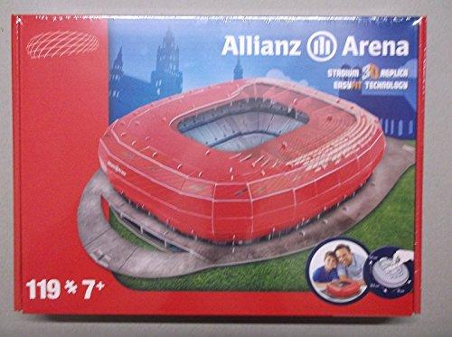 Giochi Preziosi 70002121 - 3D Stadion-Puzzle Alianz Arena München