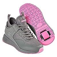 Heelys Piper Grey/Pink Kids Heely Shoe