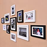[Sponsored]PPD Wall Frame Set Of 11 Photo Frames Famous Personalities Kids Room Bedroom Large Wood Photo Frame Set (135 Cm X 2 Cm X 70 Cm) Home Decor Office Decor - By Paper Plane Design