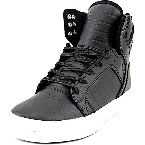 Supra Pour Homme Chaussures Basses Skytop Sneakers Noir