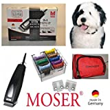 Rotschopf24 Edition: Moser cortapelos inalámbrico cortacéspedes, blanco, cabezal de acero, ligero + silencioso. 44044