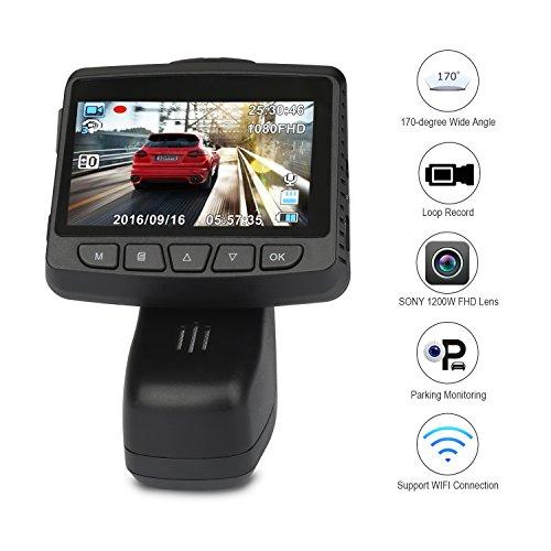 Telecamera per Auto, YIPIN Dash Cam Videoregistratore Videocamera FULL HD