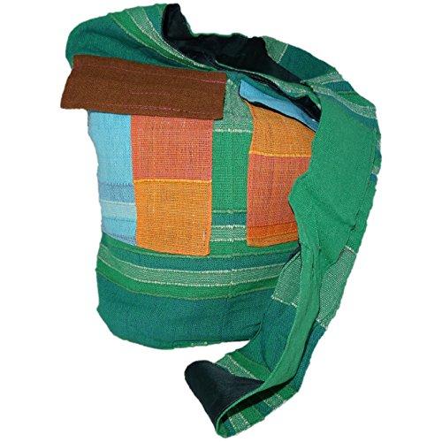 ThaiUK, Borsa a spalla donna arancione medium verde