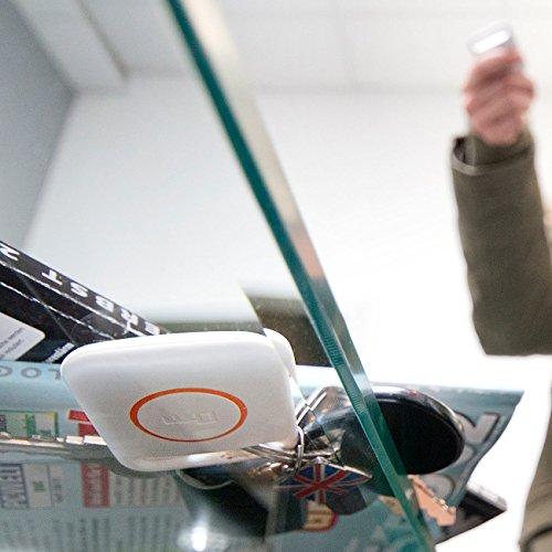 PEARL Pieper für Schlüssel: Digitaler Funk-Schlüsselfinder mit Sender (Schlüsselpieper)