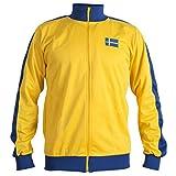 JL SPORT Schweden Sverige 1970er Jahre Retro National Schweden Fußball Jacke Trainingsanzug Jumper Mann Top - Replica