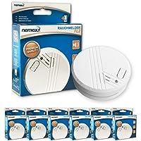 Nemaxx FL2 - Kit de detectores de humo (6 unidades, en conformidad con la