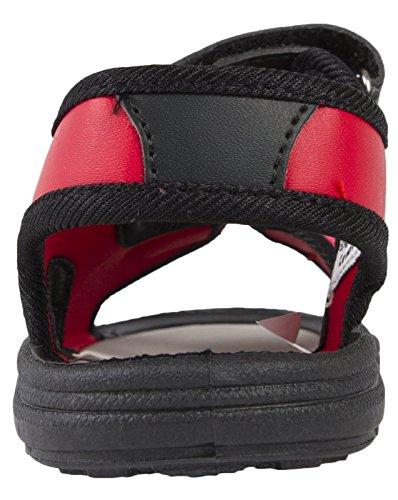 Image of Disney Cars Lightning McQueen 3D Sandals Fully Adjustable Straps Boys Shoes Size UK 7-11