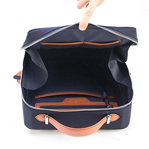 Borsa a tracolla doppia/ladies borsa di tela/zaino in nylon oxford cloth/sacchetto quadrato semplice-A A
