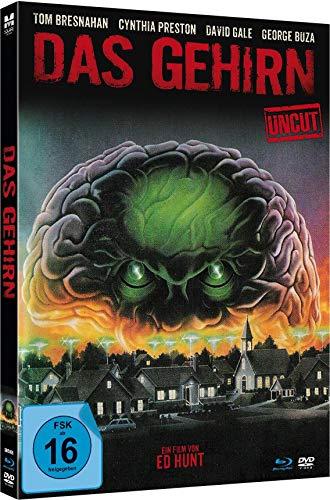 Das Gehirn (The Brain) - Uncut limited Mediabook-Edition (Blu-ray+DVD plus Booklet/HD neu abgetastet)