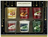 Yankee Candle Home Inspiration Votive Candles Christmas Scents Gift Set - 6 Pack