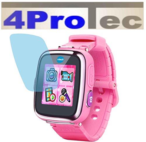 4ProTec 2 Stück GEHÄRTETE ANTIREFLEX Displayschutzfolie für Vtech Kidizoom Smart Watch 2 Bildschirmschutzfolie